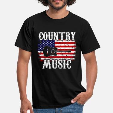 Country Country Musik Western Rodeo USA - Männer T-Shirt