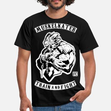 Stench Muscle Stench Fight Club - Train And Fight - Men's T-Shirt
