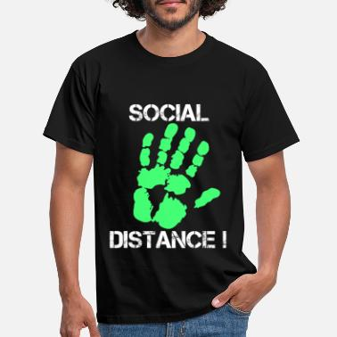 Social Social Distance - Men's T-Shirt