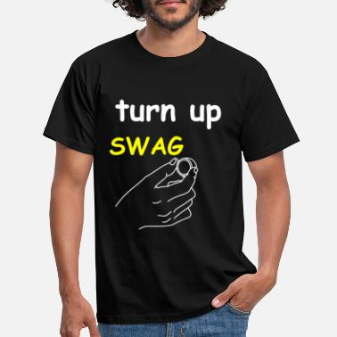 Turn On Turn the swag on - Men's T-Shirt