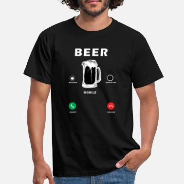 Beer Mobile - Mannen T-shirt