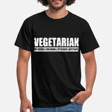 Vegetarian funny vegetarian - Men's T-Shirt