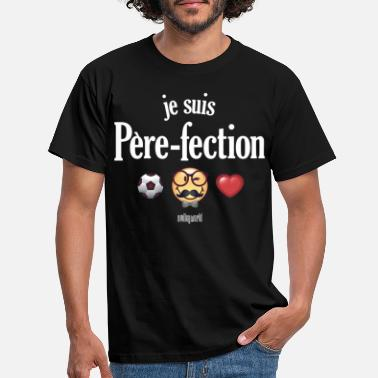 SmileyWorld Père-fection Parfait - Männer T-Shirt