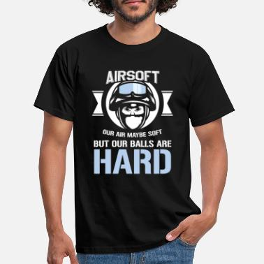 Airsoft Airsoft Hard Humorous Guns Air Guns Shooting - Men's T-Shirt
