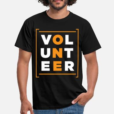 Volunteer Volunteer Rescue Volunteers Volunteering Charity - Men's T-Shirt