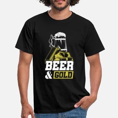 Stinginess Beer Gold Stingy Investor - Men's T-Shirt