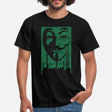Anonymous Anonymous Code - Männer T-Shirt