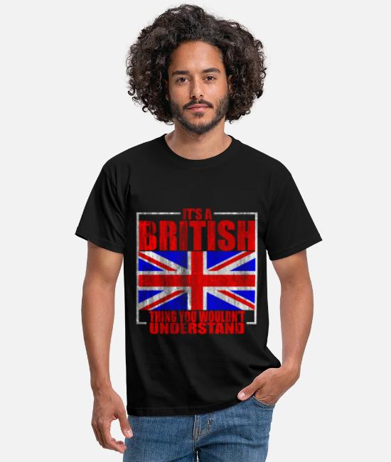 The British Empire T-Shirts - Great Britain - Men's T-Shirt black