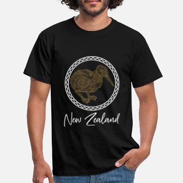 Kultur New Zealand land - T-shirt mænd