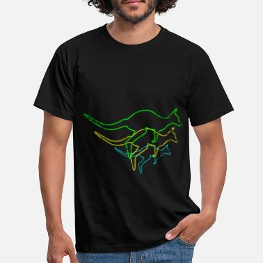 Outback Kangaroo Outback - Men's T-Shirt