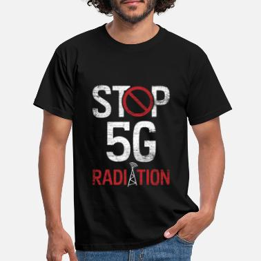 Protest 5G protest internet - Mannen T-shirt