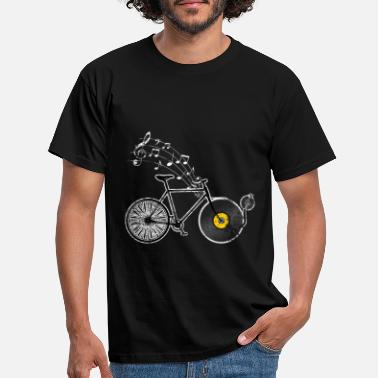 Music Bicycle riding music - Men's T-Shirt