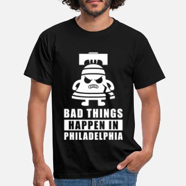 Philly Philly Liberty Bell Come To Philly for the Crack - T-shirt mænd