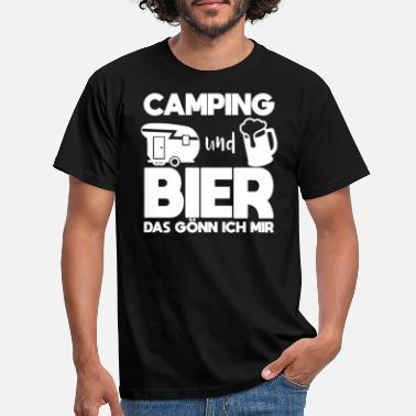Damen T-Shirt witziges Spruchshirt Geschenk Idee Camperin I love Camping