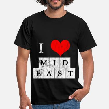 Middle East Middle East love - Men's T-Shirt