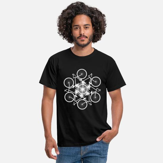 Cycling T-Shirts - Bike fusion - Men's T-Shirt black