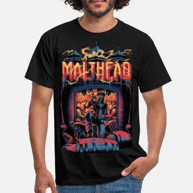 Turntable Malthead Whisky Fan Shirt - Whisky Turntable - Männer T-Shirt