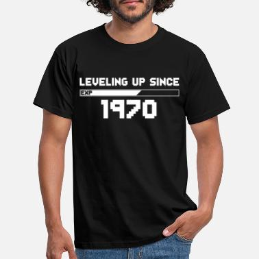 leveling up since 1970 - Men's T-Shirt