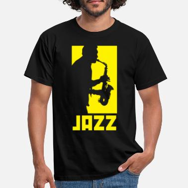 Jazz Jazz music - Men's T-Shirt
