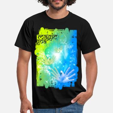 Flying Hands MAGIC GOA - Männer T-Shirt