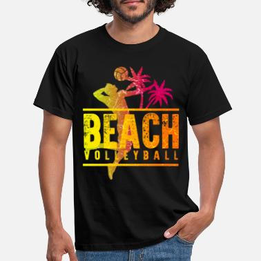 Beachvolleyball Beachvolleybal - Mannen T-shirt