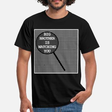 Bnd Big brother is watching you gift nerd NSA BND - Men's T-Shirt