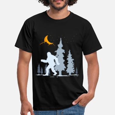 Sasquatch Sasquatch Gift Bigfoot - Men's T-Shirt