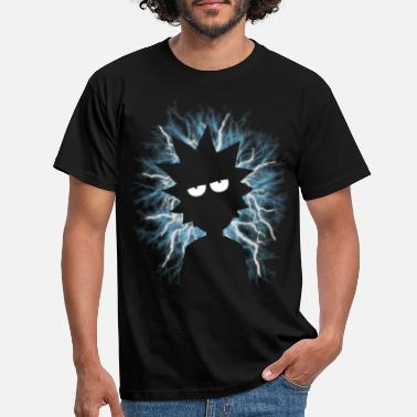 Morty Rick and Morty Mad Scientist - T-shirt herr