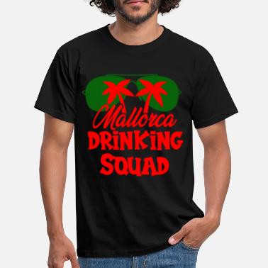 Team Zombie Mallorca Drinking Team Squad - Men's T-Shirt