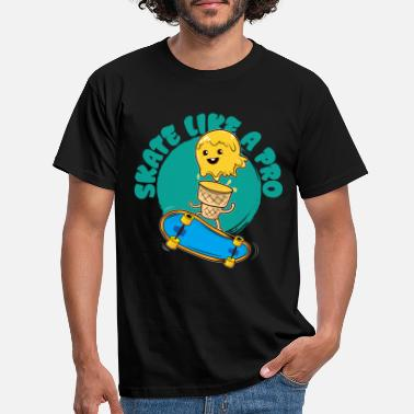 Collections Ice skateboarder - Mannen T-shirt