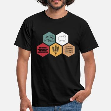 Board Roleplaying Raw Board Game Retro Gift - Men's T-Shirt