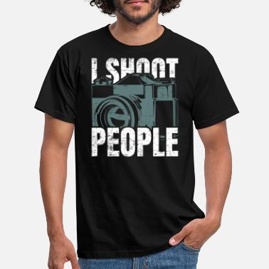 Image I shot people - Men's T-Shirt