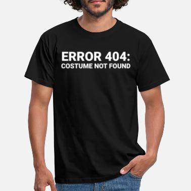 Error Halloween Design for Computer Lovers - Men's T-Shirt