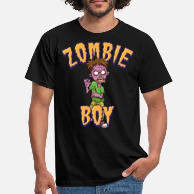 Go Zombie Boy - Men's T-Shirt