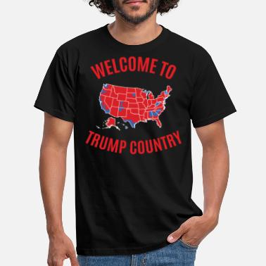Country Trump Country - Männer T-Shirt