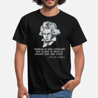Music Ludwig Van Beethoven Quote Classical Composer - Men's T-Shirt
