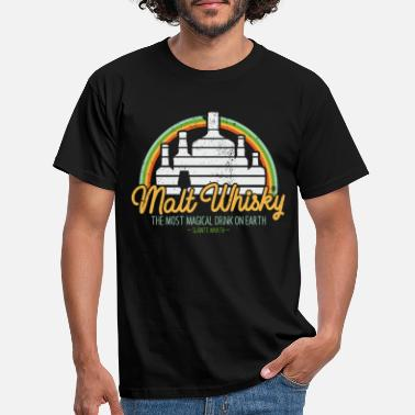 Whiskey Malt Whisky - voor whiskyliefhebbers - Mannen T-shirt