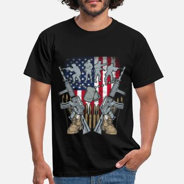 Us Private PV1 US Army, Mision Militar US Army - Mannen T-shirt