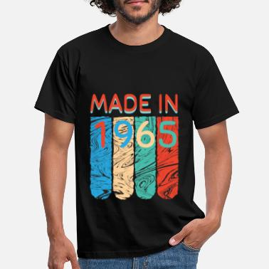 Born In Made in 1965 - Men's T-Shirt