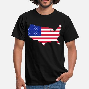 Usa USA - Mannen T-shirt