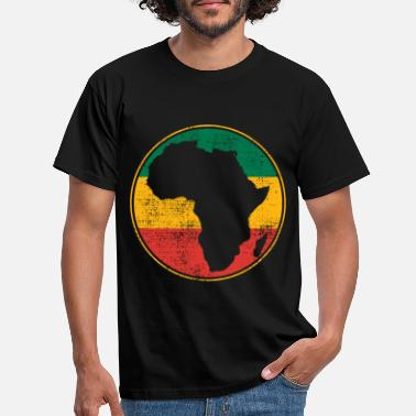 Map Africa map - Men's T-Shirt