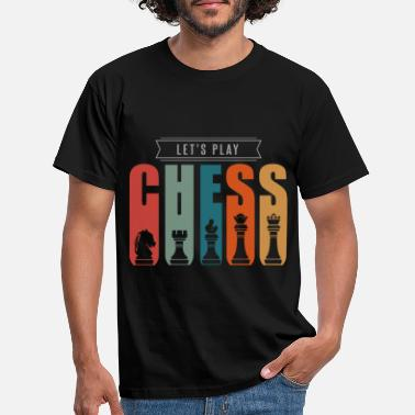Boys Chess with friends - Men's T-Shirt