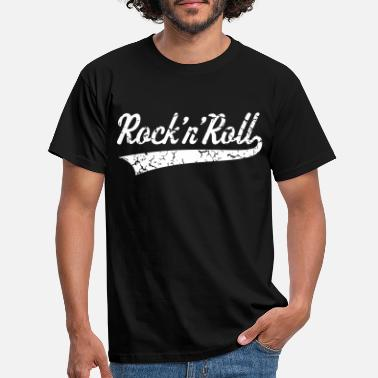Rock N Roll Rock 'n' Roll, Rock And Roll, Rock & Roll, Vintage - Männer T-Shirt