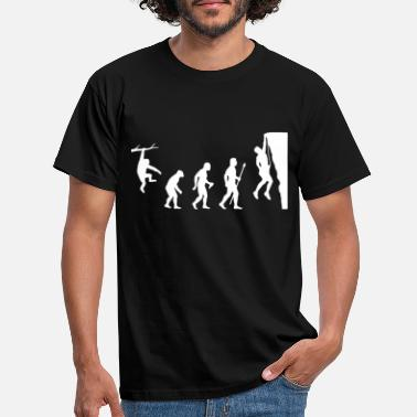 Rock Rock Climbing Evolution Shirt - Men's T-Shirt