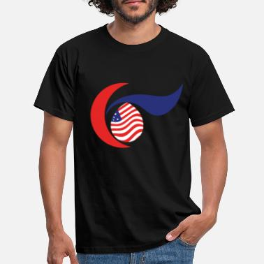 American freedom associated with USA flag12 - Men's T-Shirt