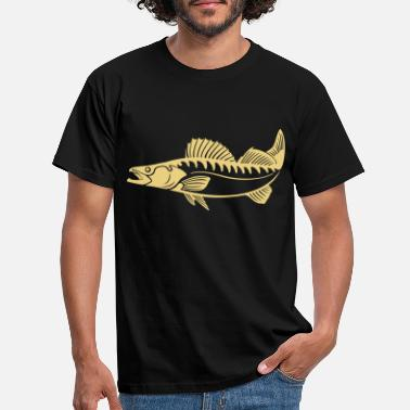 Pikeperch Zander (pikeperch) - Men's T-Shirt