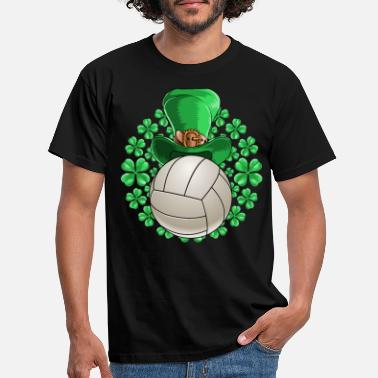 Saint Volleyball Saint Patricks Day - Men's T-Shirt