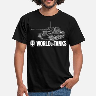 World Of Tanks World of Tanks - Outline Jagdtiger - Men's T-Shirt