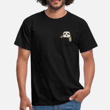 Sloth Pocket Chilling Sloth Pocket TShirt Funny Sloth In Your - Men's T-Shirt