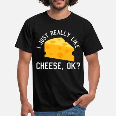 Cheese Cheese - Men's T-Shirt
